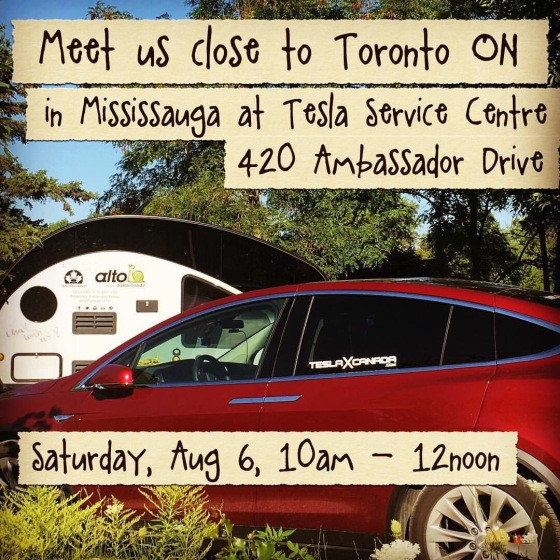 Tesla Meet Up in Mississauga